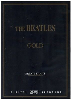 The Beatles GOLD Greatest Hits DVD *NEW and *Sealed