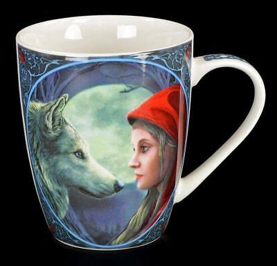 Porzellan Tasse Fantasy - Moonstruck by Lisa Parker - Kaffee Becher Wolf Fantasy