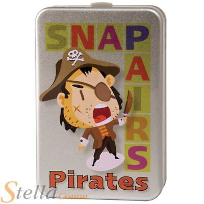 Pirate Snap & Pairs Card Game Childrens Kids Family Game