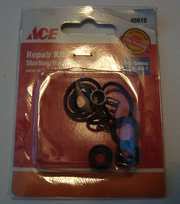 Ace  Rubber  Faucet Repair Kit  Sterling/Rockwell Double Handle Faucets
