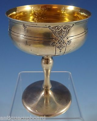 Dorothy Quincy By Reed & Barton Sherbet Goblet W/gold Washed Interior #60C #1181