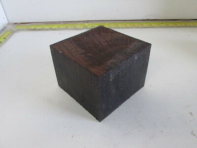 """Exotic East Indian Rosewood Wood Bowl Turning Blank (3 1/4'' x 4 1/4"""" x 4 1/4'')"""
