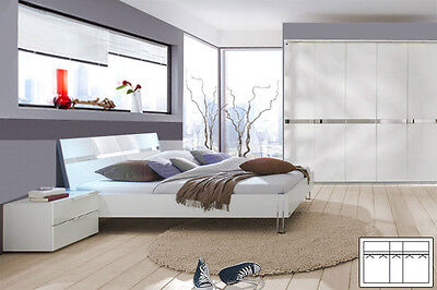 welle chiraz komplett schlafzimmer hochglanz wei sand blau swarovski elements eur. Black Bedroom Furniture Sets. Home Design Ideas