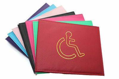 **BRAND NEW** DISABLED BADGE HOLDER WALLET PARKING BlUE DISABILITY COVER