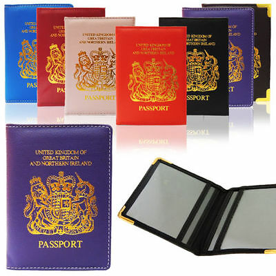 Brand New Passport Holder With European Logo Passport Safty Cover For Uk People