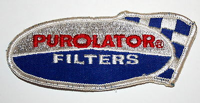 Vintage Purolator Oil Filters Nascar Racing Car Patch New NOS 1970s