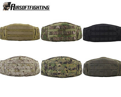 Hunting Military Tactical Padded Molle Molded Waist Protect Belt Battle Belt