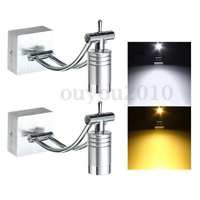 3W LED Modern Porch Wall Sconce Fixture Spot Light Picture Mirror Lamp Bedside