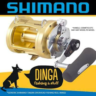Shimano Tiagra 30WLRSA Overhead Game Fishing Reel 2 Speed
