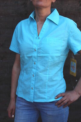 Maul-25, Funktions Bluse 1/2 Damen, Kiruna, schnell tr. Outdoor skyblue-78