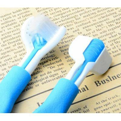 Pet Dog Double Headed Oral Hygiene Care Toothbrush Cleaning Massage Brush