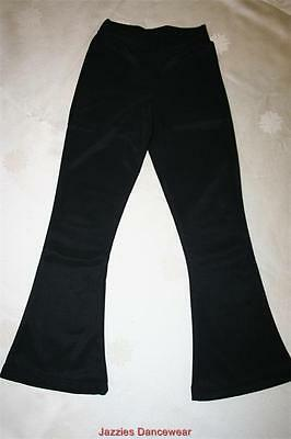 Girls / Ladies Jazz Pants Black V-Waist or Straight BRAND NEW Various Sizes