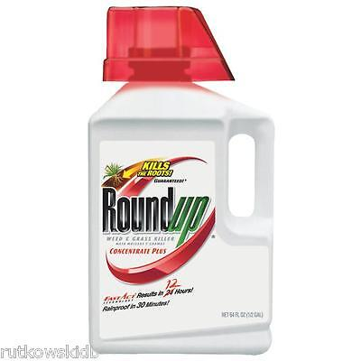 1/2-GALLON Roundup Weed & Grass Killer Concentrate Plus