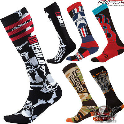 Oneal Motocross Socken Lang Cross Offroad Enduro Mx Mtb Atv Quad Strümpfe Socks