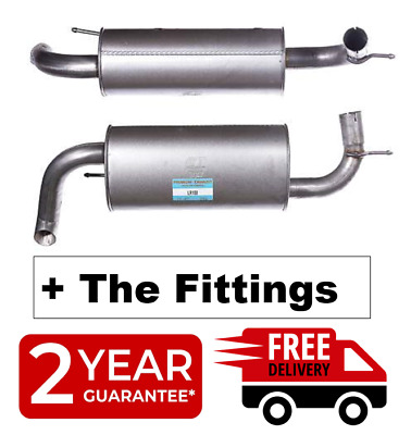Land Rover Freelander 2.0TD4 00-06 Rear Exhaust Section + Fitting Kit -  LR188W