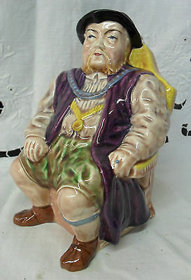"Melba Ware HENRY EIGHTH Toby Jug, 7"", 1950s/60s"