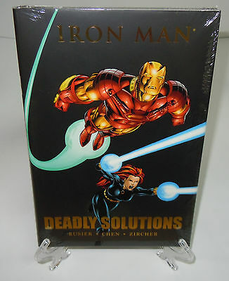 Iron Man Deadly Solutions Marvel Comics HC Hard Cover Brand New Sealed