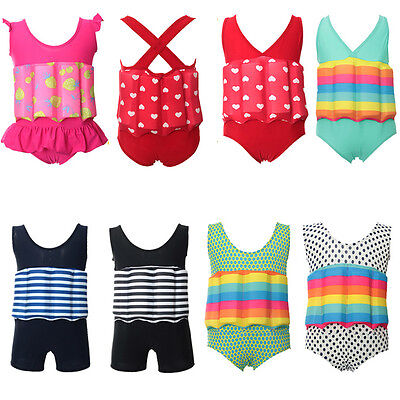 Baby Toddler Child Swimming Float Jacket Swim Aid Wear Suit 8016#