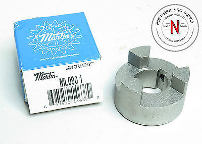 "Martin Ml090-1 Jaw Coupling, 1.000"" Shaft Drive Coupling"