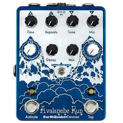 Earthquaker Devices Avalanche Run Delay Reverb New guitar pedal