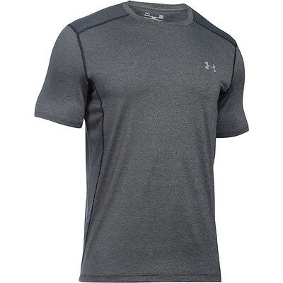 Under Armour HeatGear Sonic Fitted Raid T-Shirt Short Sleeve carbon 1257466-090