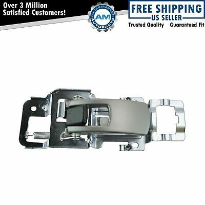 Inside Interior Door Handle Silver Passenger Side Front Rear each for Equinox
