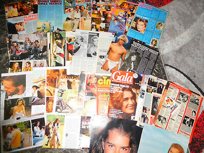 Brooke Shields  15  Teile/parts Clipping 0716