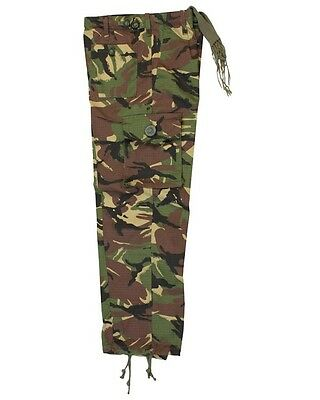 Kids Kombat DPM Trousers Boys Girls Play Party Dress Up Army Military Camo