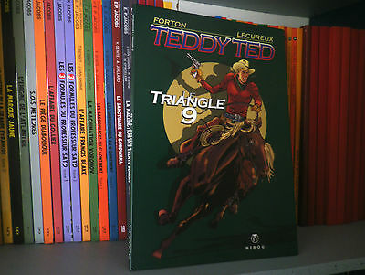 TEDDY TED : le triangle 9 - Ed Originale - BD COMME NEUF