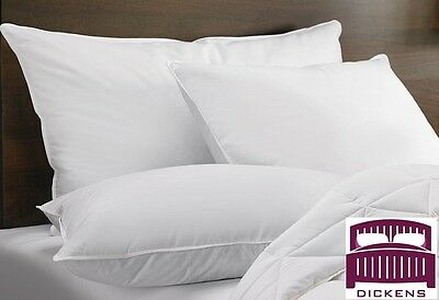 Luxury Duck Feather Pillows Extra Filling Comfortable Hotel Quality