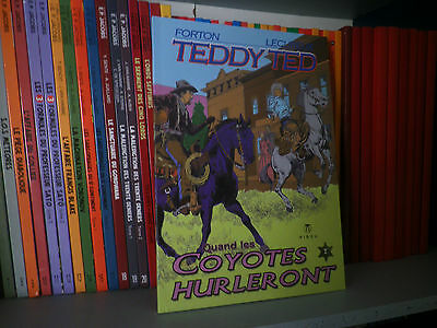 TEDDY TED, Tome 7 : Quand les coyotes hurleront - Ed Originale - BD COMME NEUF
