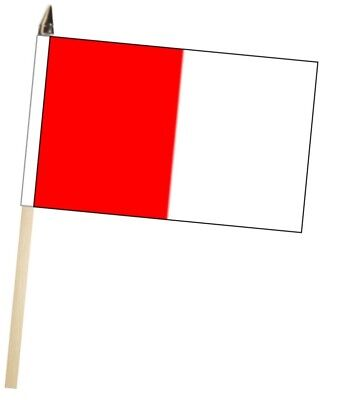 Ireland Derry County Gaelic Games Colours Large Hand Waving Courtesy Flag