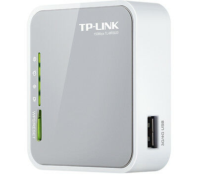 TP-LINK TL-MR3020 Portable 3G/4G Wireless N Travel Router Up to 150 Mbps