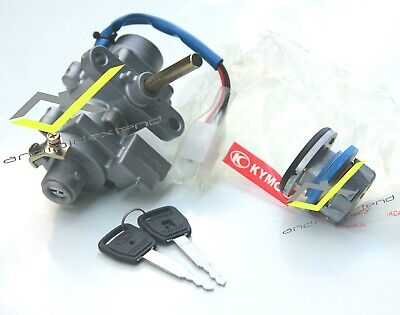 KYMCO DOWNTOWN 300/350 IGNITION KEY SYSTEM with KEY GAS CAP (includes 2 KEYS!)