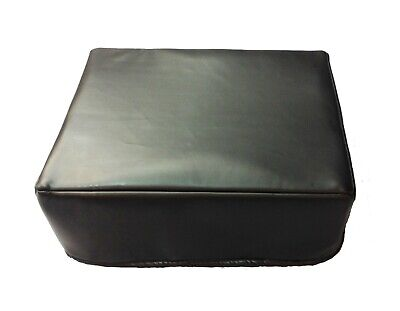Turntable Dust Cover Faux leather. Black or Brown. Custom Available.