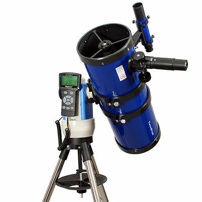 "New Blue 6"" iOptron Reflector Telescope w Computer"