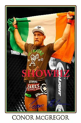 * CONOR McGREGOR, LARGE SIGNED AUTOGRAPH POSTER, LOOKS GREAT ON THE WALL!!!!!