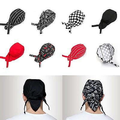 Baotou Skull Cap Chef Hat Professional Catering Various Colourfull Chef Caps