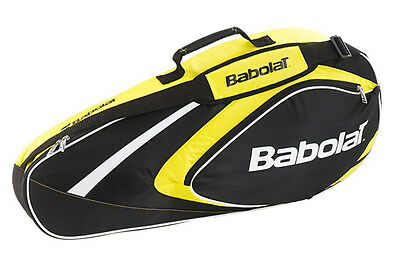 Babolat Club Line 3 Pack - tennis racquet racket bag - Black/Yellow - Reg $40