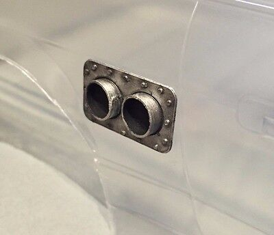 RC Drift Car 1/10 Scale Twin Side Exit Exhaust Tail Pipe (not intercooler)