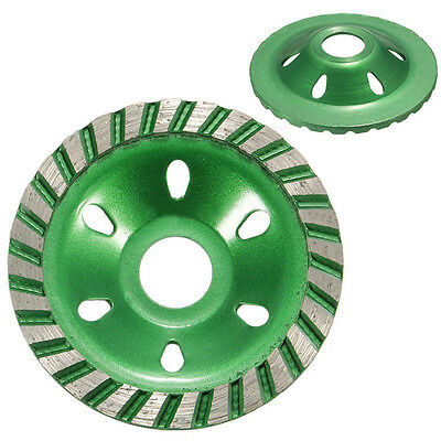 4''100mm Diamond Grinding Cup Wheel Cutting Disc Concrete Masonry Stone Tool