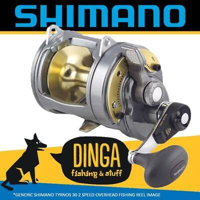 Shimano Tyrnos 30 II Overhead Lever Drag Fishing Reel 2 Speed