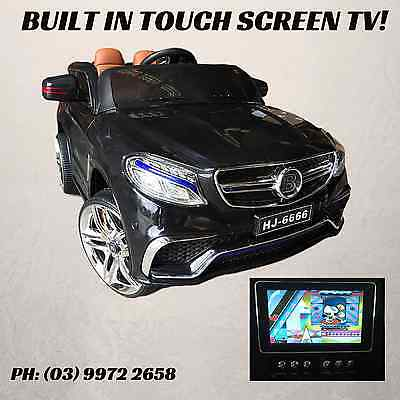Kids Electric Ride on Car Mercedes-Benz Style Children Toy Remote 12v TV INCLD
