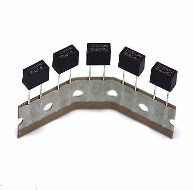 10pc MST Radial Lead Micro Fuse MST004 T4A 4A 250V Size=8.35x7.7x4.3mm CONQUER