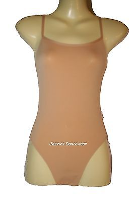 Dance Cami Bodyliner / Bodysuit - Great for Under Costumes - Various Sizes