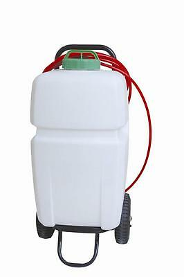 Propump water fed pole window cleaning trolley. 35litre capacity.