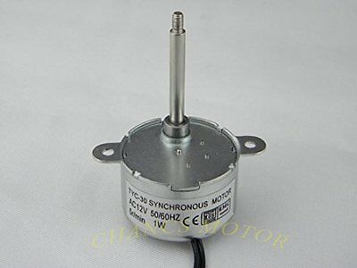 Generic TYC30 AC 12V Synchronous Motor 5RPM CW/CCW 1.5W for Christmas Decoration