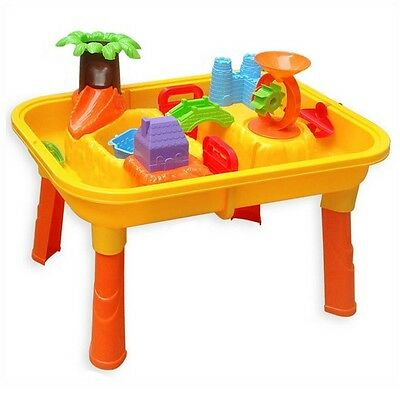 Sand and Water Table Garden Sandpit Play Set Toys  Activity With Accessory