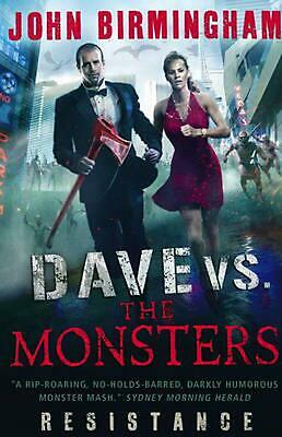 Dave vs. the Monsters by John Birmingham Paperback Book Free Shipping!