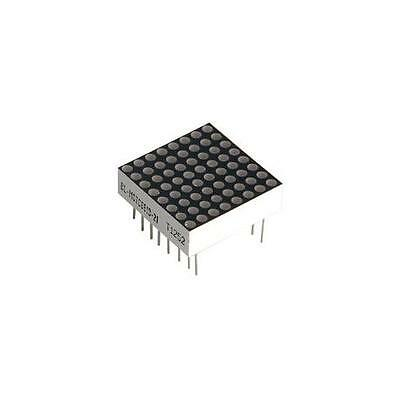 GA97359 860 Adafruit Industries LED Matrix , 8X8 , 20mm , Yellow
